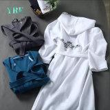 Mode de haute qualité peignoir en coton gaufre Hôtel Robe de vêtements de nuit