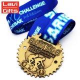 Haut de la vente Custom vieux métal médaille aux Championnats du Sport de vélo de course