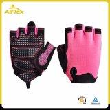 Половина пальцами лампы панели перчатки для верховой езды Weightlifting