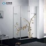 Fournisseur de la Chine à l'intérieur mur de la salle de bains en verre fritté numérique