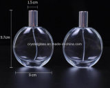 Frasco de vidro de perfume Redonda Plana com o pulverizador