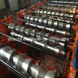 Vitrage double couche de métal Tile machine à profiler