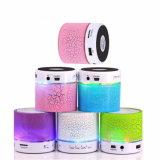 Беспроводные гарнитуры Bluetooth Bluetooth динамики мини-динамик портативный мини-светодиодный индикатор Smart АС с FM-радио