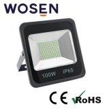 Indicatore luminoso di inondazione bianco di lumen 90lm/W LED del riflettore 100W di nuovo disegno alto