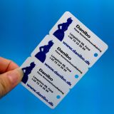 Modifica di bagaglio su ordinazione di linea aerea del PVC di stampa di marchio del cmyk di RFID con la banda della firma per l'inseguimento dei bagagli e la gestione di aeroporto