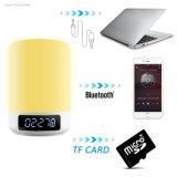Wireless Smart Touch cambia de color Lámpara de luz nocturna altavoz portátil Bluetooth