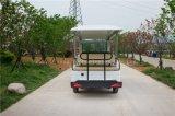 CocのConfirmity 14のシートが付いている電気観光車バス