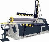 4개의 롤러 구부리는 기계 강철 플레이트 회전 기계