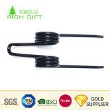 Personalizados fabricante de cable de alimentación de torsión espiral de la bobina de la formación de la fuerza mecánica de juguete de resorte de acero inoxidable puerta
