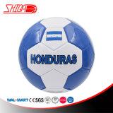 Color azul en el mercado de Honduras la Bandera Nacional de pelota de fútbol