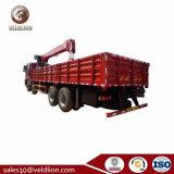 Hot Sale Foton Auman Cargo Truck avec 16 tonnes pour le Nigéria de grue hydraulique du ramasseur