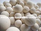 Шарики Al2O3 Средств-Глинозема изготовления меля: 68~72% 90~92% 95%