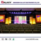 Visualización de LED fija de interior P1.5625/P1.667/P1.923 de HD para la etapa de la TV, vigilando el centro