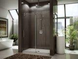Roue coulissante pour baignoire Grande roue à roue grande Porte de douche