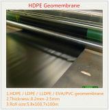 Fodera della pellicola Roll/HDPE Geomembrane dell'HDPE Geomembrane/HDPE