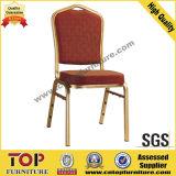 ホテルの快適な使用されたスタッキングアルミニウム宴会の椅子