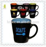 Venta al por mayor tazas personalizadas tono de cerámica de 12 onzas dos Latte
