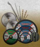 Rodas de moedura lig resina para o metal 180X6.4X22.2mm