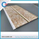 El panel de pared decorativo del PVC del panel de techo del PVC del surco medio los 25cm