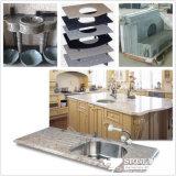 Parte superiore Polished di vanità del granito di disegno moderno per la cucina (SV003)