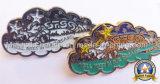 Le zinc meurent le moulage plaquant Pin doux de revers d'émail (MJ-PIN-085)