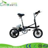 14 polegadas dobráveis E-Bike 7 velocidades carbono aço material