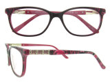 주문품 안경알은 최신 신제품 광학 프레임 제조자 여자 유리를 짜맞춘다