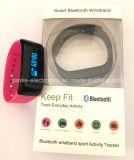 Напечатанный браслет Bluetooth воды упорный франтовской с логосом (4005)