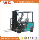 3 тонны электрическо/платформа грузоподъемника батареи