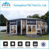 A annoncé la restauration de tente dinant la tente de Multi-Côté de tente d'hôtel avec la décoration de luxe