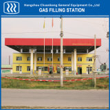 CNG Archivierungs-Station L-CNG, die Station tankt