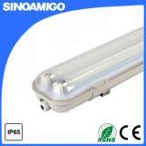 IP65 водонепроницаемый T8 флуоресцентной лампы фитинг 2*36W