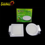 Plafond 12W Round Flat Panel LED lumineuses Panneaux