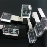 LED 가벼운 결정 USB 2.0 기억 장치 지팡이 섬광 펜 드라이브