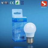 고품질 6400k 4W 전구 E27 LED