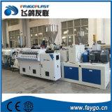 Plastique PVC double extrudeuse à double vis à vis conique