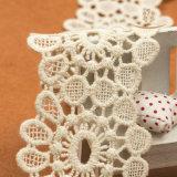 Nuovo testo fisso del merletto del cotone di alta qualità del Crochet di arrivo