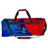 A bagagem Ebay da mulher dos homens ostenta sacos atléticos da ginástica do futebol fresco