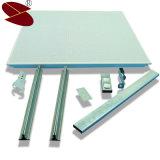 Soffitto di alluminio acustico di alluminio quadrato Plafond