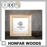 Bâti non fini de photo d'illustration en bois solide pour la décoration à la maison