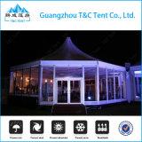 Bestellte die Zelt-Lebesmittelanschaffung voraus, die Hotel-Zelt Multi-Seite Zelt mit Luxuxdekoration speist