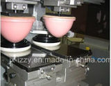 Mini doppelte Farben-Auflage-Drucken-Maschine mit Doppelventilkegel-Platte