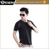 T-shirt court de séchage rapide tactique de chemise d'Esdy Windrunner
