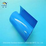 Tubo de encolhimento de calor em PVC colorido para embalagem de bateria 18650