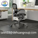 De Mat van de Stoel van het bureau, het Gebruik van de Vloer en de Waterdichte, AntislipMat van de Stoel van pvc voor het Lage Tapijt van de Stapel