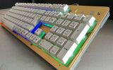 LED-zerteilt bunter veränderbarer Computer USB Tastatur