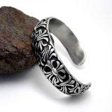 De gotische Armbanden van het Manchet van de Juwelen van de Manier van het Staal van het Titanium van de Armbanden van Mensen