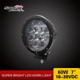 Peças sobressalentes CREE Chip 7 '' 60W Round Car LED Headlight