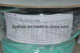 cordon de connexion de fibre optique de faisceaux de 100meters Om3 LC-LC 6