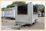 Ys-Fv390d de Hete Verkoop Ingesloten Bestelwagen van de Catering van de Aanhangwagen
